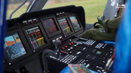 Agusta AW139 auf der Glass Cockpit Übersicht