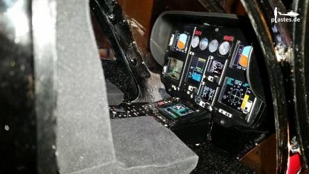 EC145 auf der Glass Cockpit Übersicht