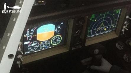 SU27 auf der Glass Cockpit Übersicht