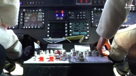 Bell UH-1Y auf der Glass Cockpit Übersicht